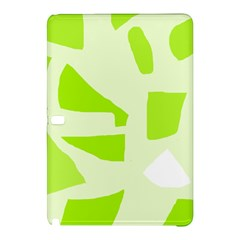 Green abstract design Samsung Galaxy Tab Pro 10.1 Hardshell Case