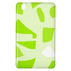 Green abstract design Samsung Galaxy Tab Pro 8.4 Hardshell Case