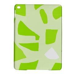 Green abstract design iPad Air 2 Hardshell Cases