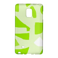 Green abstract design Galaxy Note Edge