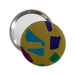Colorful abstraction 2.25  Handbag Mirrors