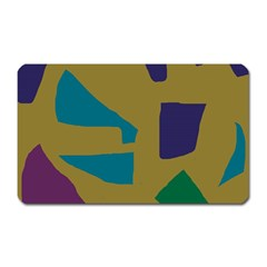 Colorful abstraction Magnet (Rectangular)