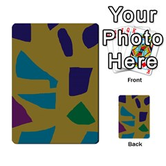 Colorful abstraction Multi-purpose Cards (Rectangle)