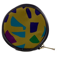 Colorful abstraction Mini Makeup Bags