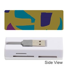 Colorful abstraction Memory Card Reader (Stick)