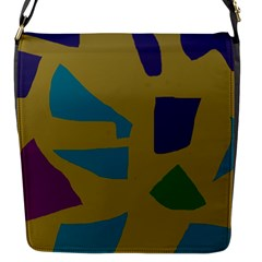 Colorful abstraction Flap Messenger Bag (S)