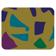 Colorful abstraction Double Sided Flano Blanket (Medium)