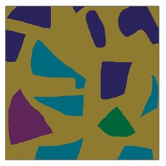 Colorful abstraction Large Satin Scarf (Square)