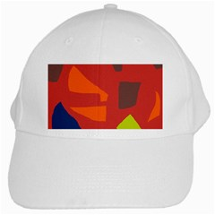 Red abstraction White Cap