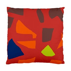 Red abstraction Standard Cushion Case (One Side)