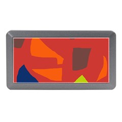 Red abstraction Memory Card Reader (Mini)