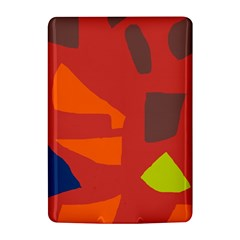Red abstraction Kindle 4