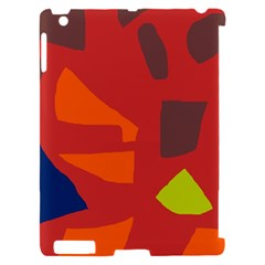 Red abstraction Apple iPad 2 Hardshell Case (Compatible with Smart Cover)