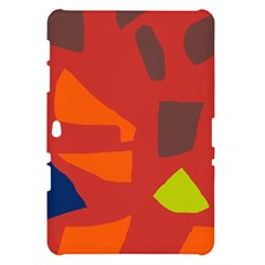 Red abstraction Samsung Galaxy Tab 10.1  P7500 Hardshell Case