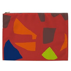 Red abstraction Cosmetic Bag (XXL)