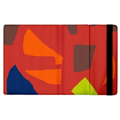 Red abstraction Apple iPad 2 Flip Case