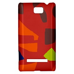 Red abstraction HTC 8S Hardshell Case