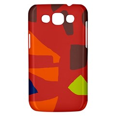 Red abstraction Samsung Galaxy Win I8550 Hardshell Case
