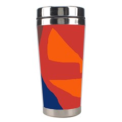 Red abstraction Stainless Steel Travel Tumblers