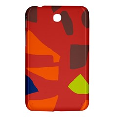 Red abstraction Samsung Galaxy Tab 3 (7 ) P3200 Hardshell Case