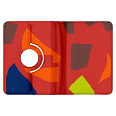 Red abstraction Kindle Fire HDX Flip 360 Case