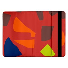 Red abstraction Samsung Galaxy Tab Pro 12.2  Flip Case