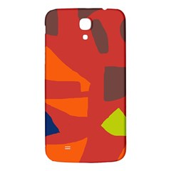 Red abstraction Samsung Galaxy Mega I9200 Hardshell Back Case