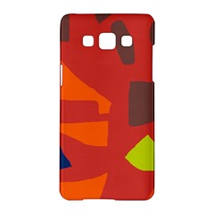 Red abstraction Samsung Galaxy A5 Hardshell Case