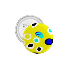 Yellow abstract pattern 1.75  Buttons