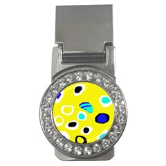 Yellow abstract pattern Money Clips (CZ)