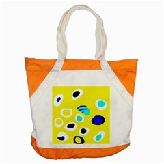 Yellow abstract pattern Accent Tote Bag