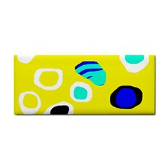 Yellow abstract pattern Hand Towel