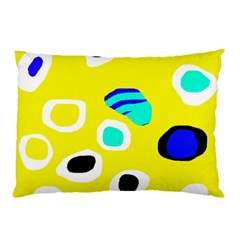 Yellow abstract pattern Pillow Case
