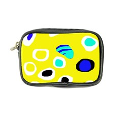 Yellow abstract pattern Coin Purse