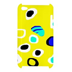 Yellow abstract pattern Apple iPod Touch 4