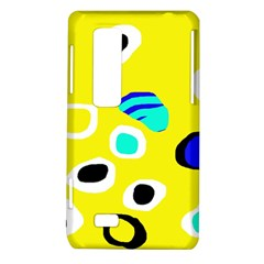 Yellow abstract pattern LG Optimus Thrill 4G P925