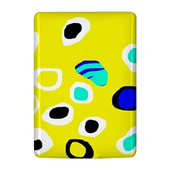 Yellow abstract pattern Kindle 4