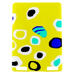 Yellow abstract pattern Kindle Touch 3G