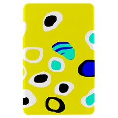 Yellow abstract pattern Kindle Fire (1st Gen) Hardshell Case
