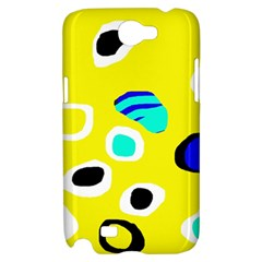 Yellow abstract pattern Samsung Galaxy Note 2 Hardshell Case