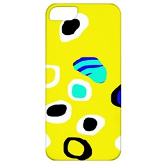 Yellow abstract pattern Apple iPhone 5 Classic Hardshell Case