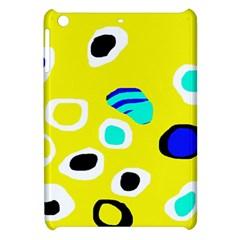 Yellow abstract pattern Apple iPad Mini Hardshell Case