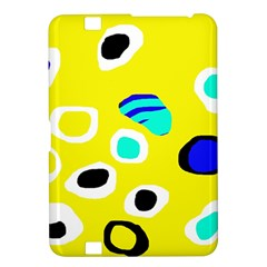 Yellow abstract pattern Kindle Fire HD 8.9