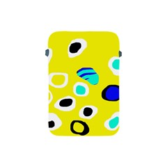 Yellow abstract pattern Apple iPad Mini Protective Soft Cases