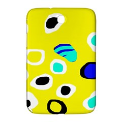 Yellow abstract pattern Samsung Galaxy Note 8.0 N5100 Hardshell Case
