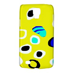 Yellow abstract pattern Galaxy S4 Active