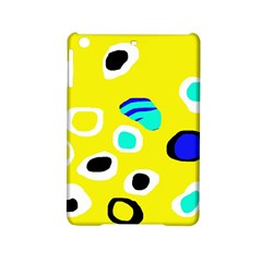 Yellow abstract pattern iPad Mini 2 Hardshell Cases