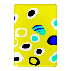 Yellow abstract pattern Samsung Galaxy Tab Pro 12.2 Hardshell Case