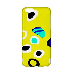 Yellow abstract pattern Apple iPhone 6/6S Hardshell Case