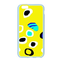 Yellow abstract pattern Apple Seamless iPhone 6/6S Case (Color)